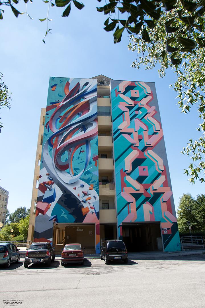 La Street Art a Padova - Orion & Yama