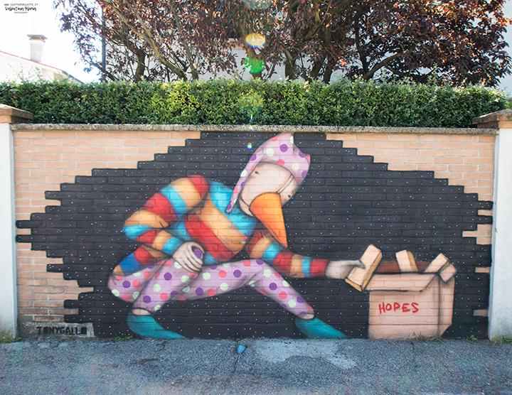 Street Art a Padova: l'arte urbana in città
