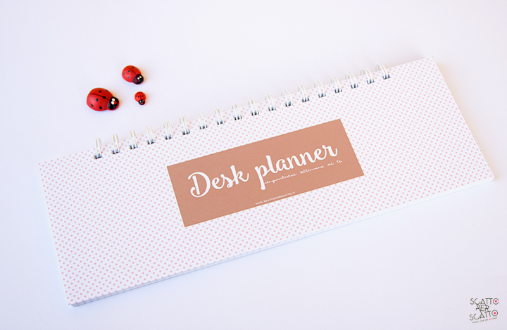 Desk planner settimanale: l'aiuto che non può mancare