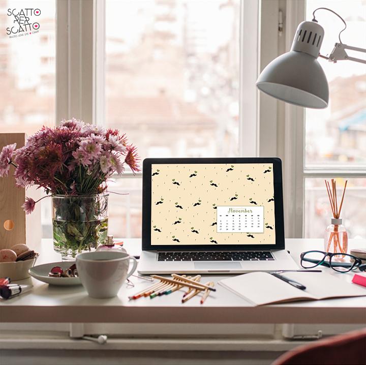 Lo sfondo di Novembre: lo sfondo per desktop da scaricare gratuitamente