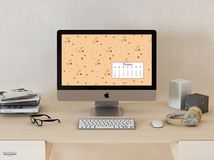 Lo sfondo di Ottobre: sfondo desktop
