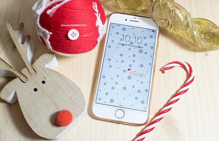 Lo sfondo di Dicembre – Calendario dell'avvento