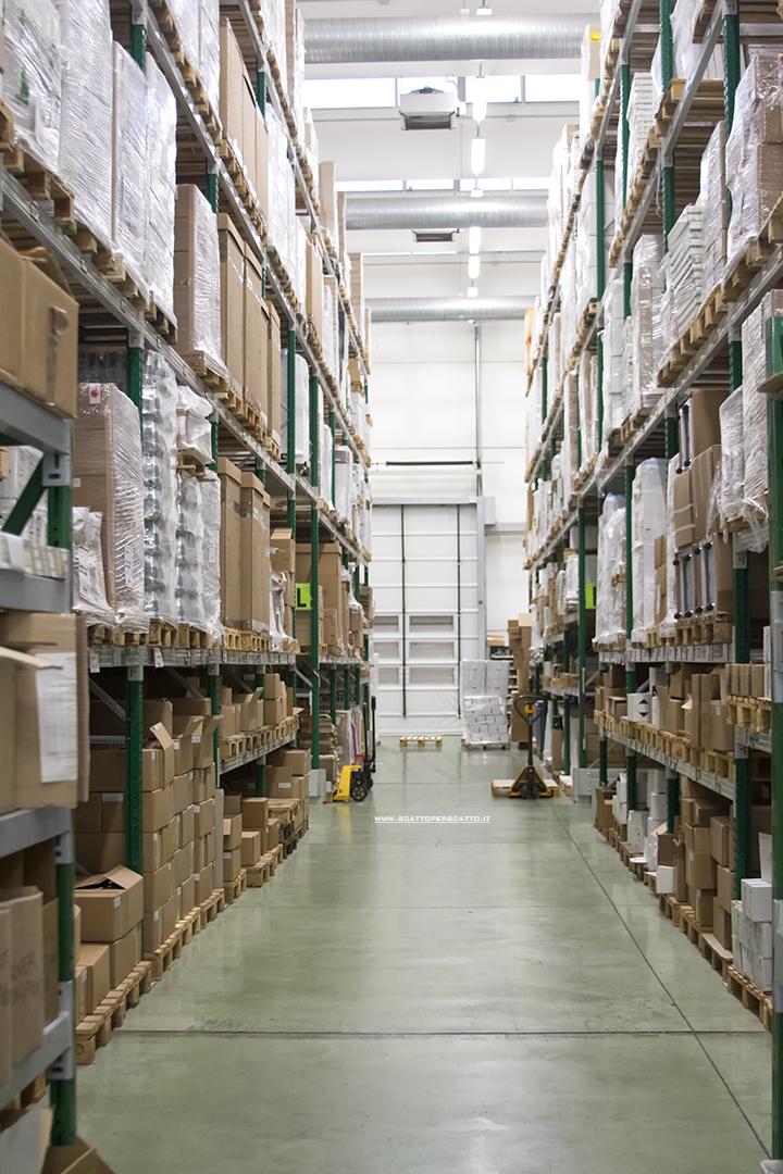 Bios Line Open Factory: il magazzino