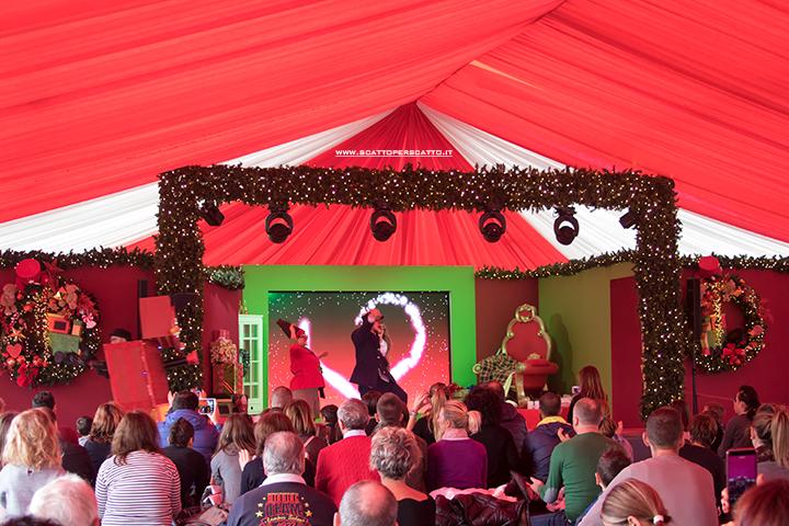 Villaggio di Natale Flover a Bussolengo: spettacolo