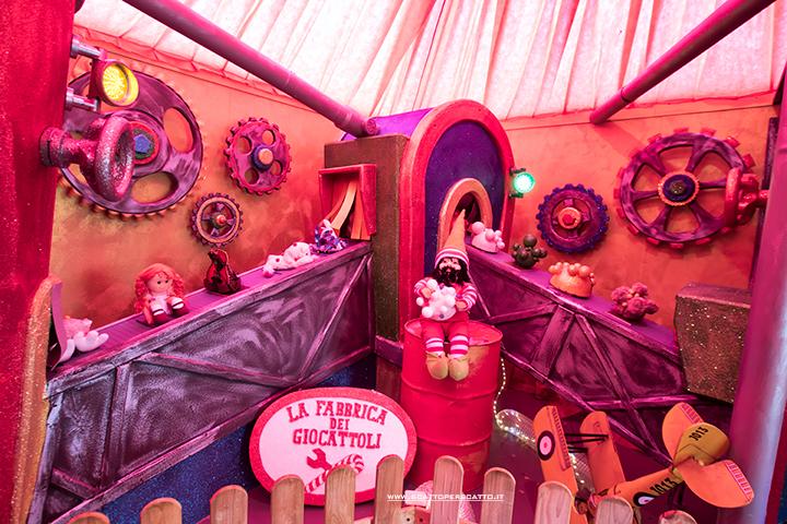 Villaggio di Natale Flover a Bussolengo: la fabbrica dei giocattoli