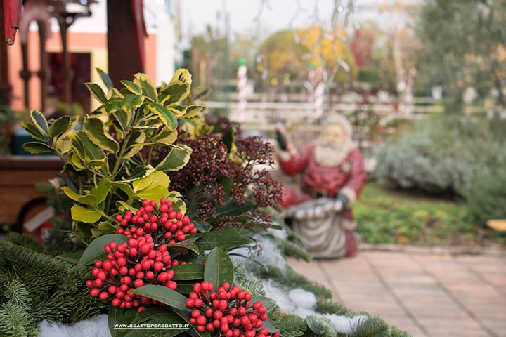 Villaggio di Natale Flover a Bussolengo: la casa di Babbo Natale