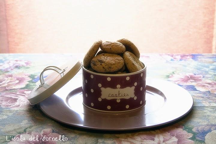 Cookies al cioccolato senza lattosio - Calendario dell'avvento