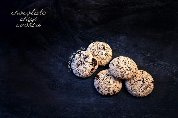 Cookies al cioccolato senza burro e latte