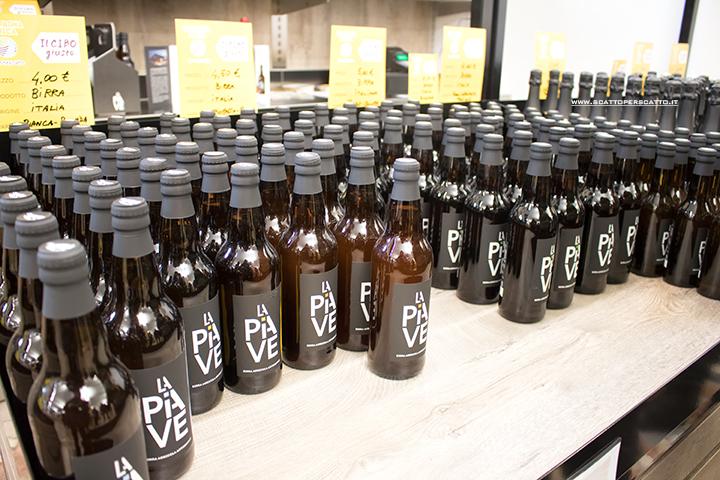 Mercato coperto di Riviera Santa Margherita: birra agricola artigianale La Piave