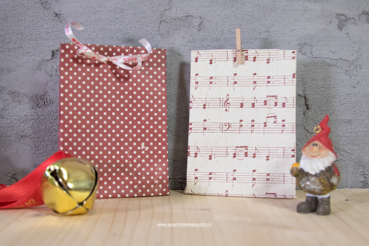 Sacchettini regalo DIY: video - tutorial - Calendario dell'avvento