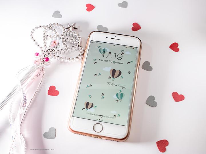 Lo sfondo di Febbraio - Sfondo smartphone