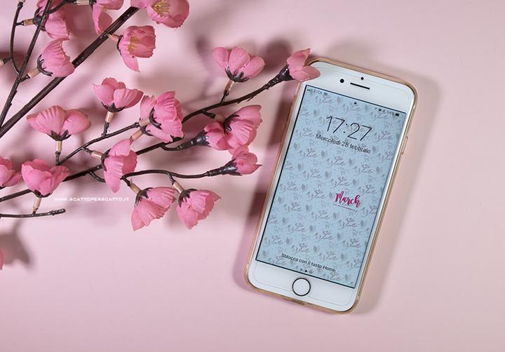 Lo sfondo di Marzo - Sfondo smartphone