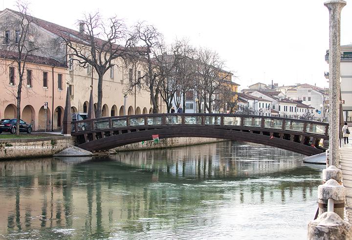 Cosa vedere a Treviso in un pomeriggio: il ponte dell'Università