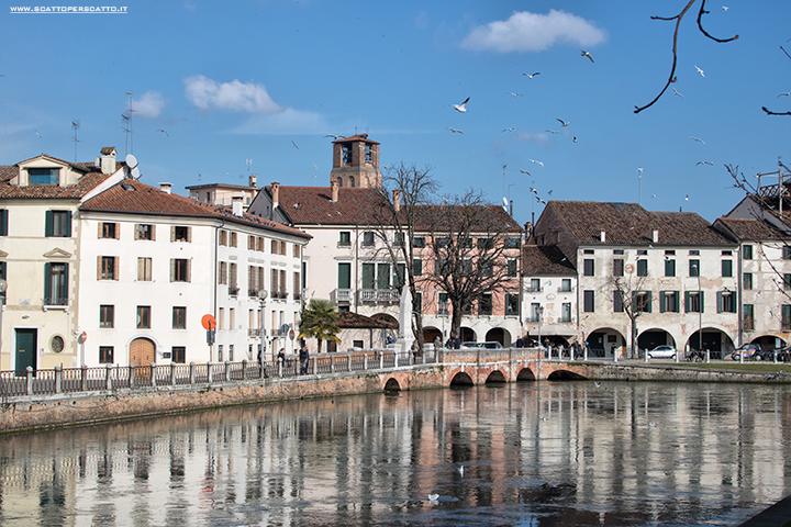 Cosa vedere a Treviso in un pomeriggio: il ponte Dante