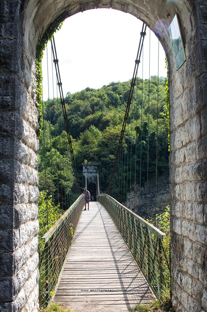 Lago del Corlo - Ponte della Vittoria