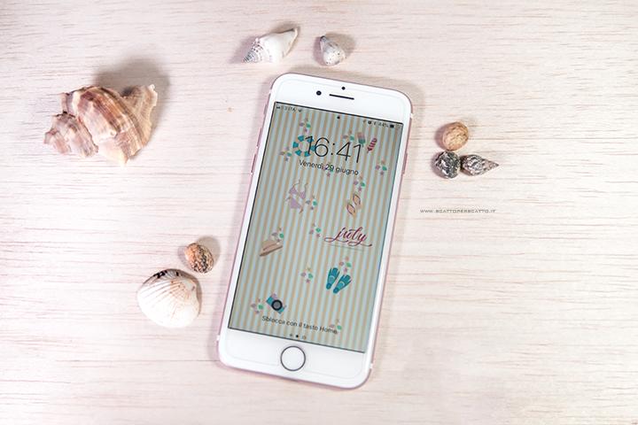 Lo sfondo di Luglio - Sfondo smartphone