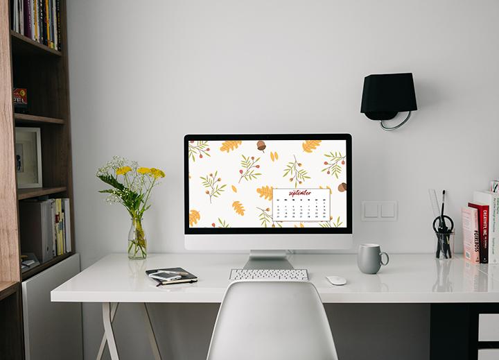 Lo sfondo di Settembre - Sfondo desktop