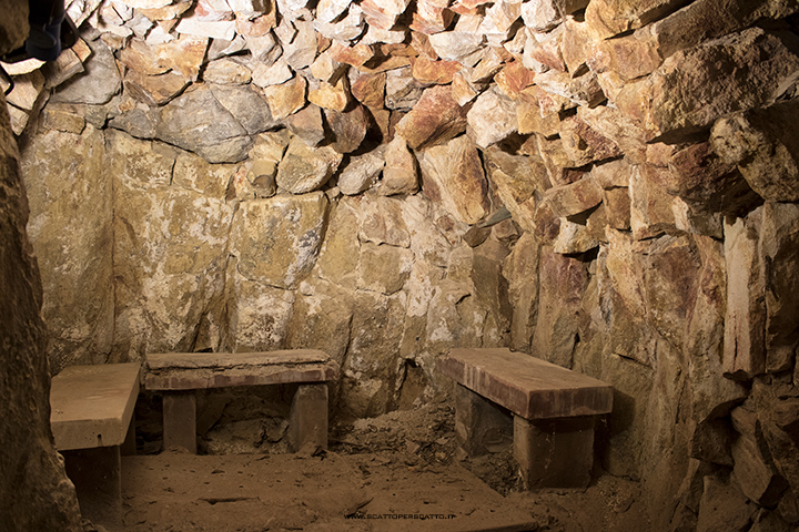 Grotta naturale termale di Sant'Elena - la grotta