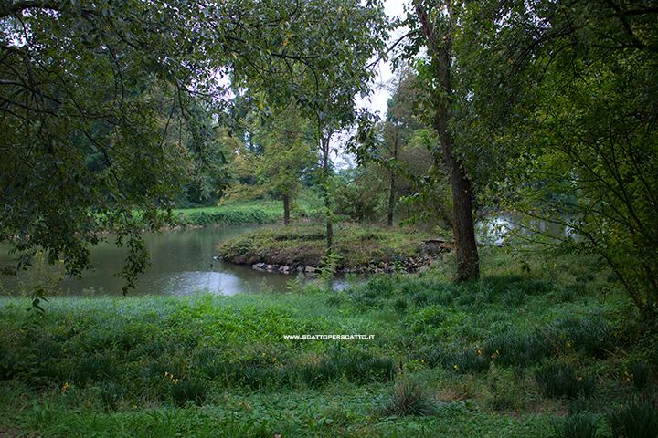 Grotta naturale termale di Sant'Elena - Il parco della Villa Selvatico