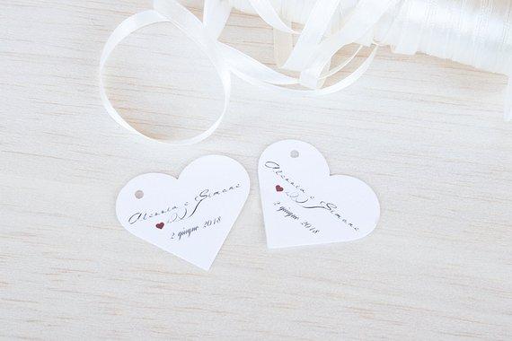 Tags per matrimonio