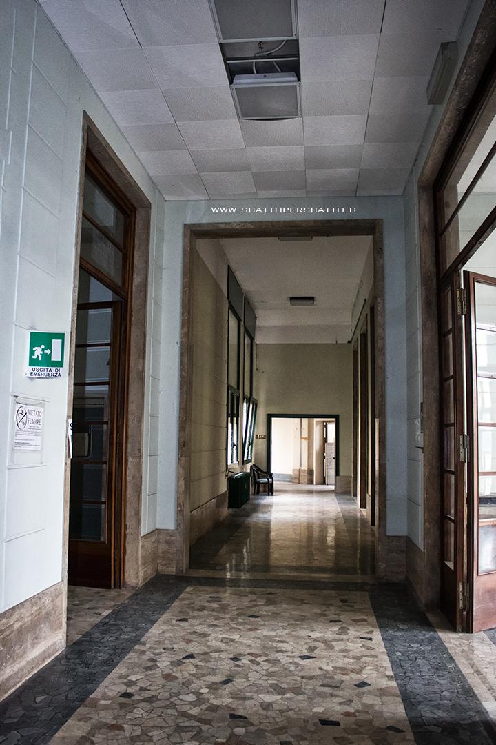 Lo stabilimento INPS di Battaglia Terme