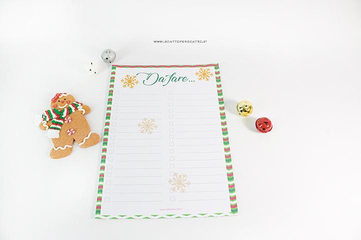 Christmas Planner 2018