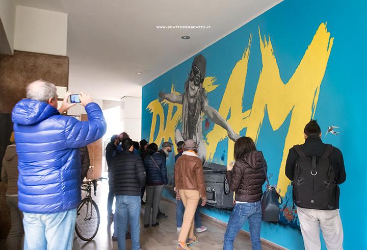 Dove trovare street art a Padova: Alessio B