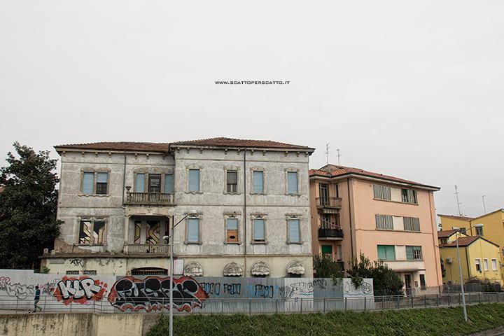 Dove trovare street art a Padova: zona stazione FS