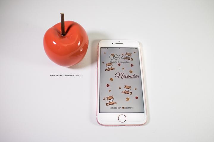 Lo sfondo di Novembre: sfondo smartphone