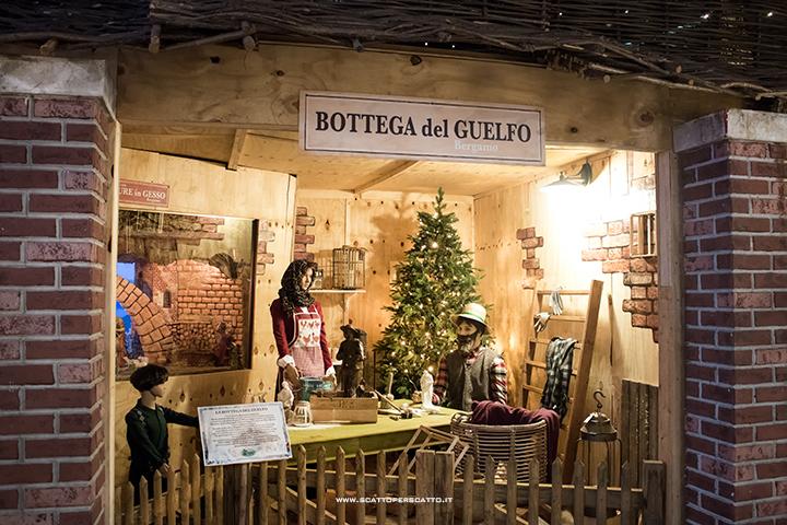 Il nuovo Christmas Garden di Centro Verde Caravaggio: la Bottega del Guelfo.