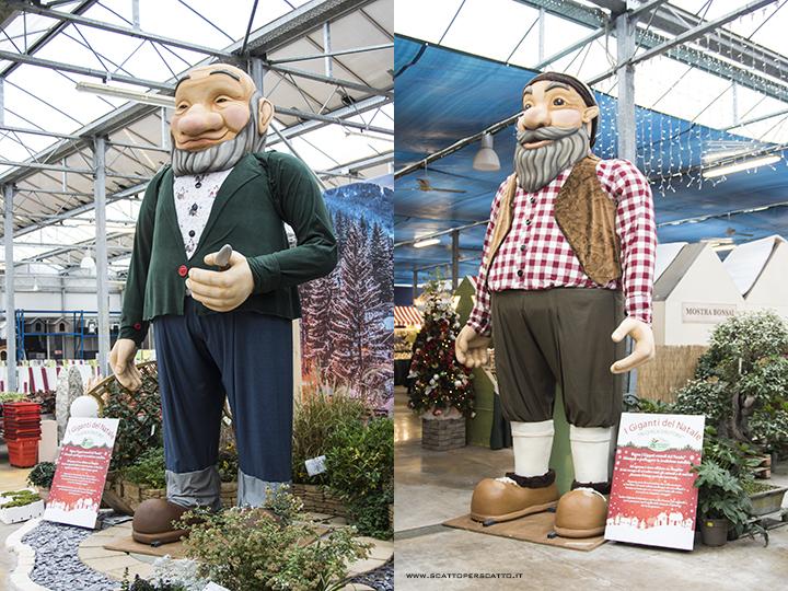 Il nuovo Christmas Garden di Centro Verde Caravaggio: i Giganti del Natale.