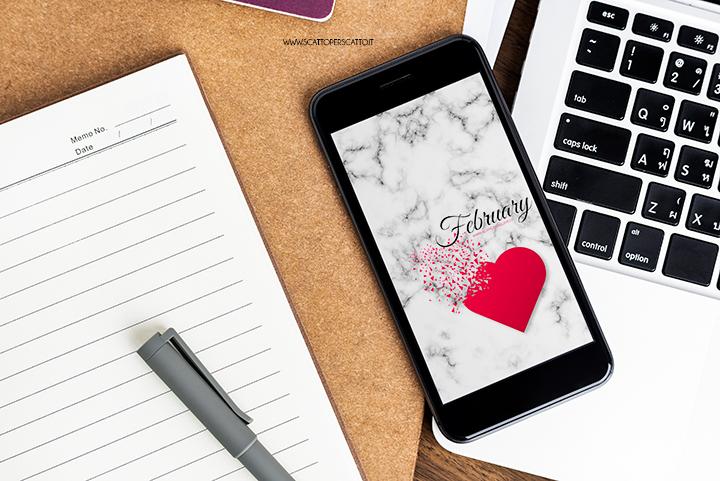 Sfondo smartphone febbraio | Free download
