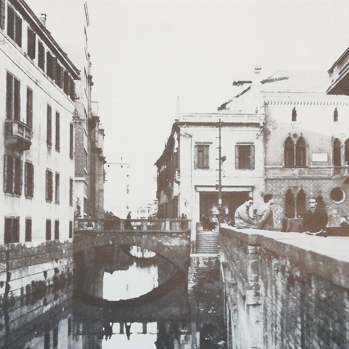 Immagine storica del ponte di San Lorenzo
