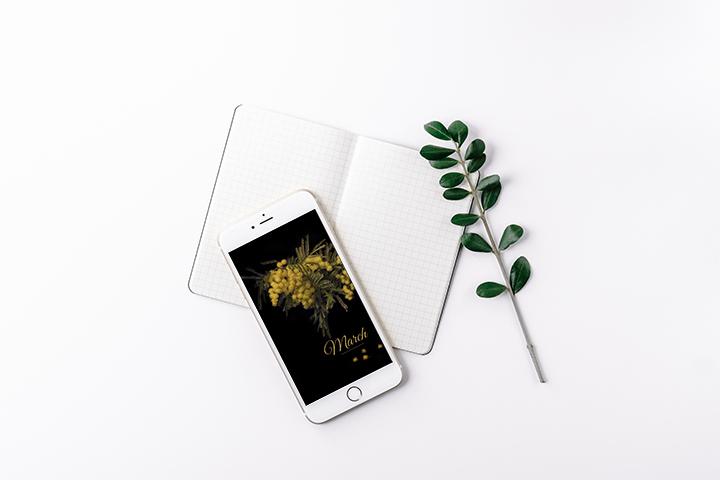 Sfondo smartphone marzo