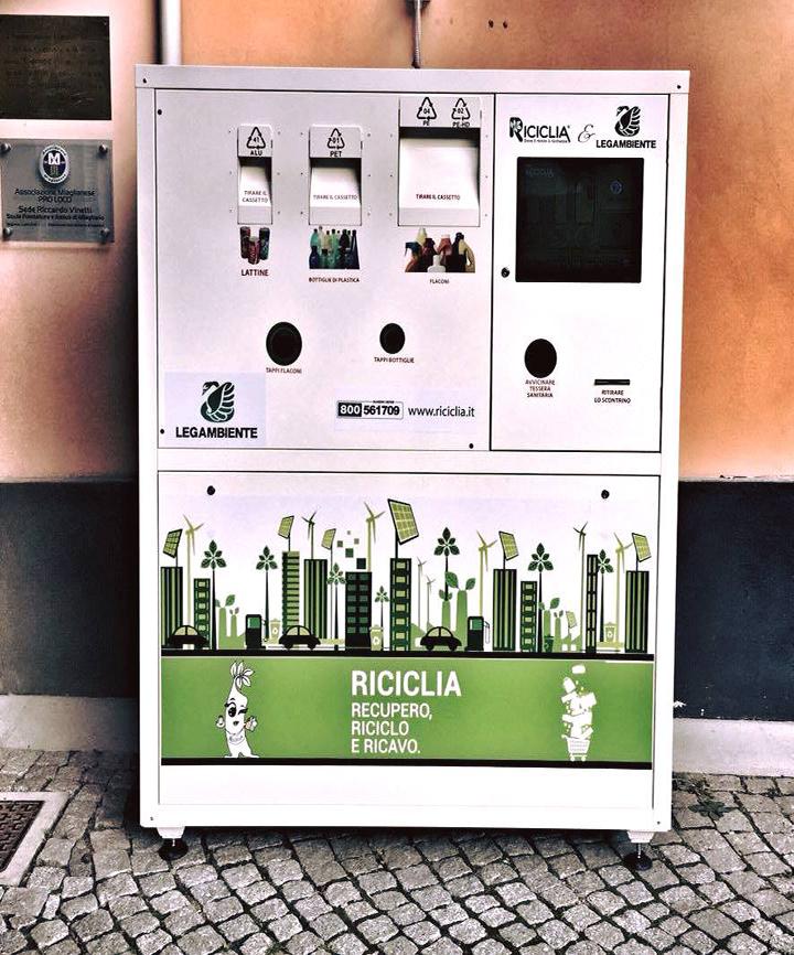 Riciclia: recupero, riciclo e ricavo - ecocompattatore