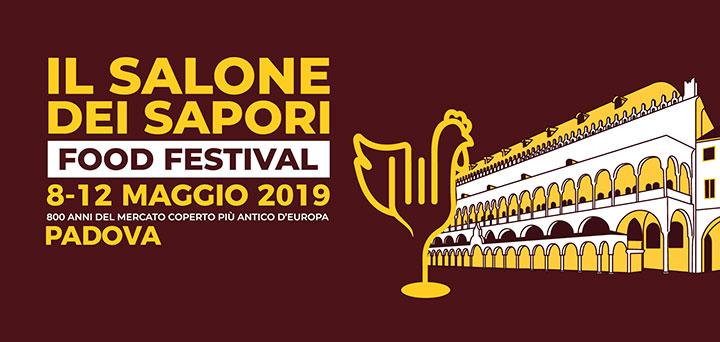 Il Salone dei Sapori a Padova dall'8 al 12 maggio 2019