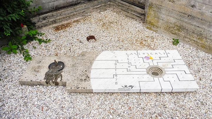 Tomba Brion: la tomba di Carlo Scarpa