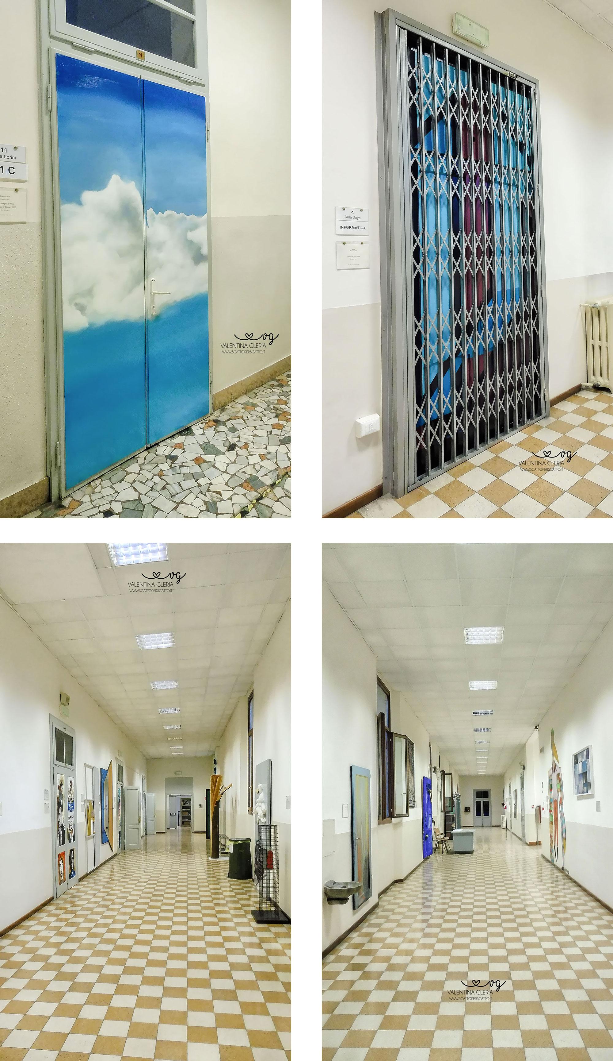 Corridoi d'Arte Contemporanea al Liceo Duca d'Aosta