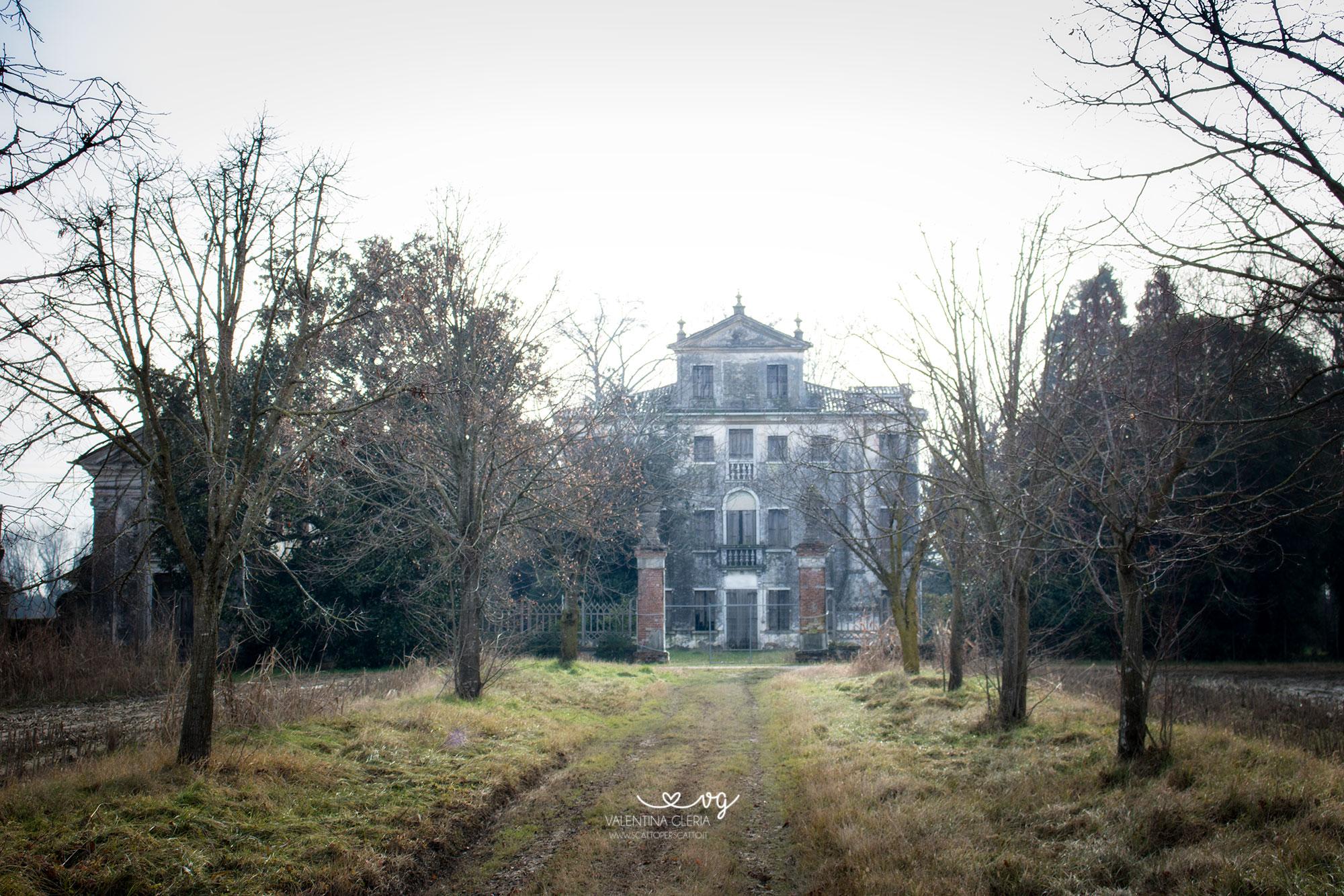 Villa Reliquia - Facciata