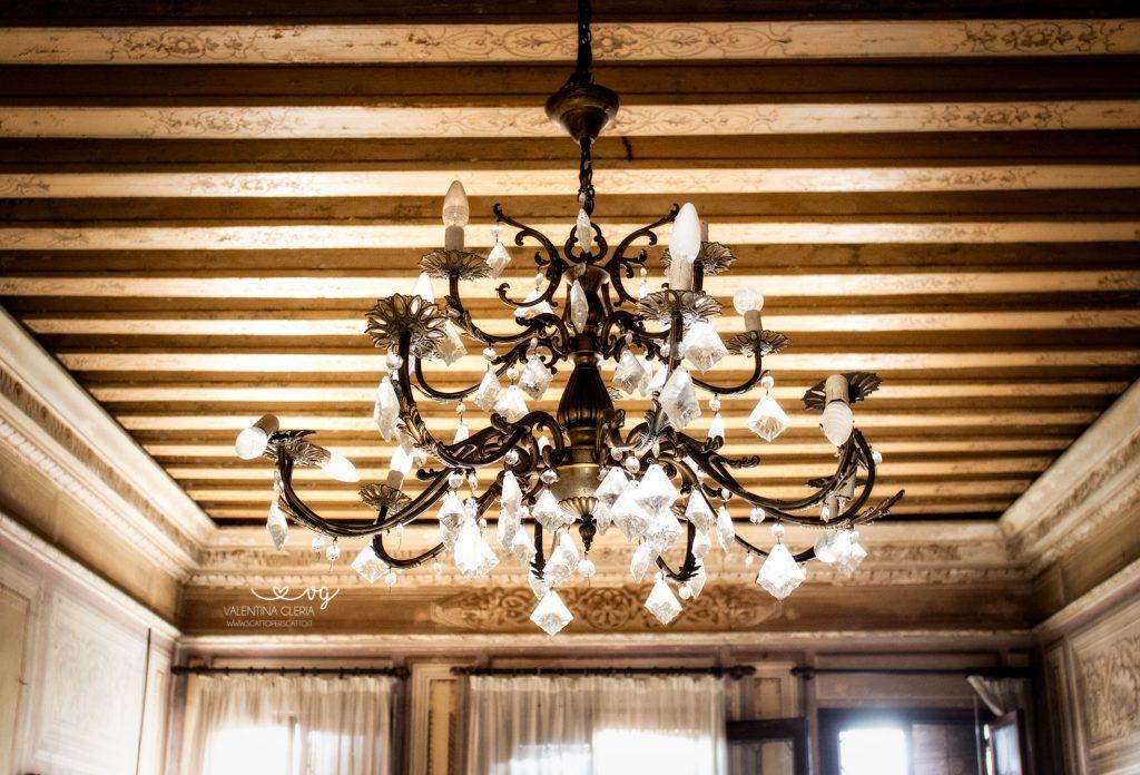 Soffitti in legno intarsiato
