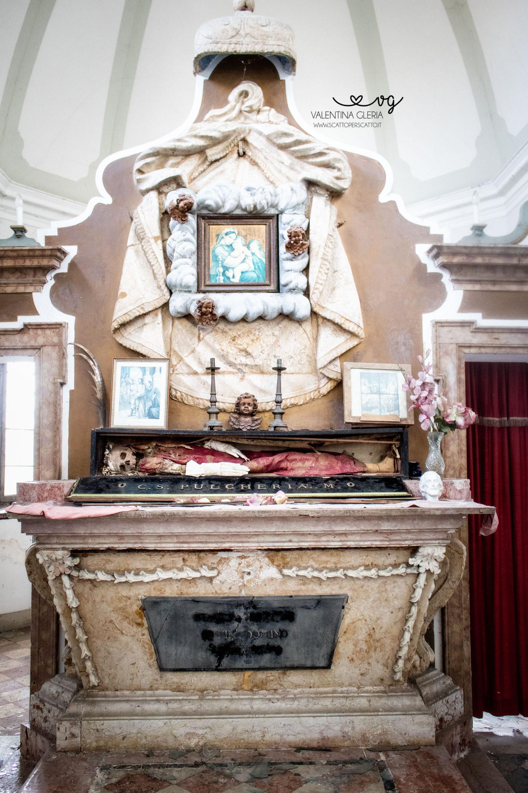 Le reliquie di Santa Pulcheria