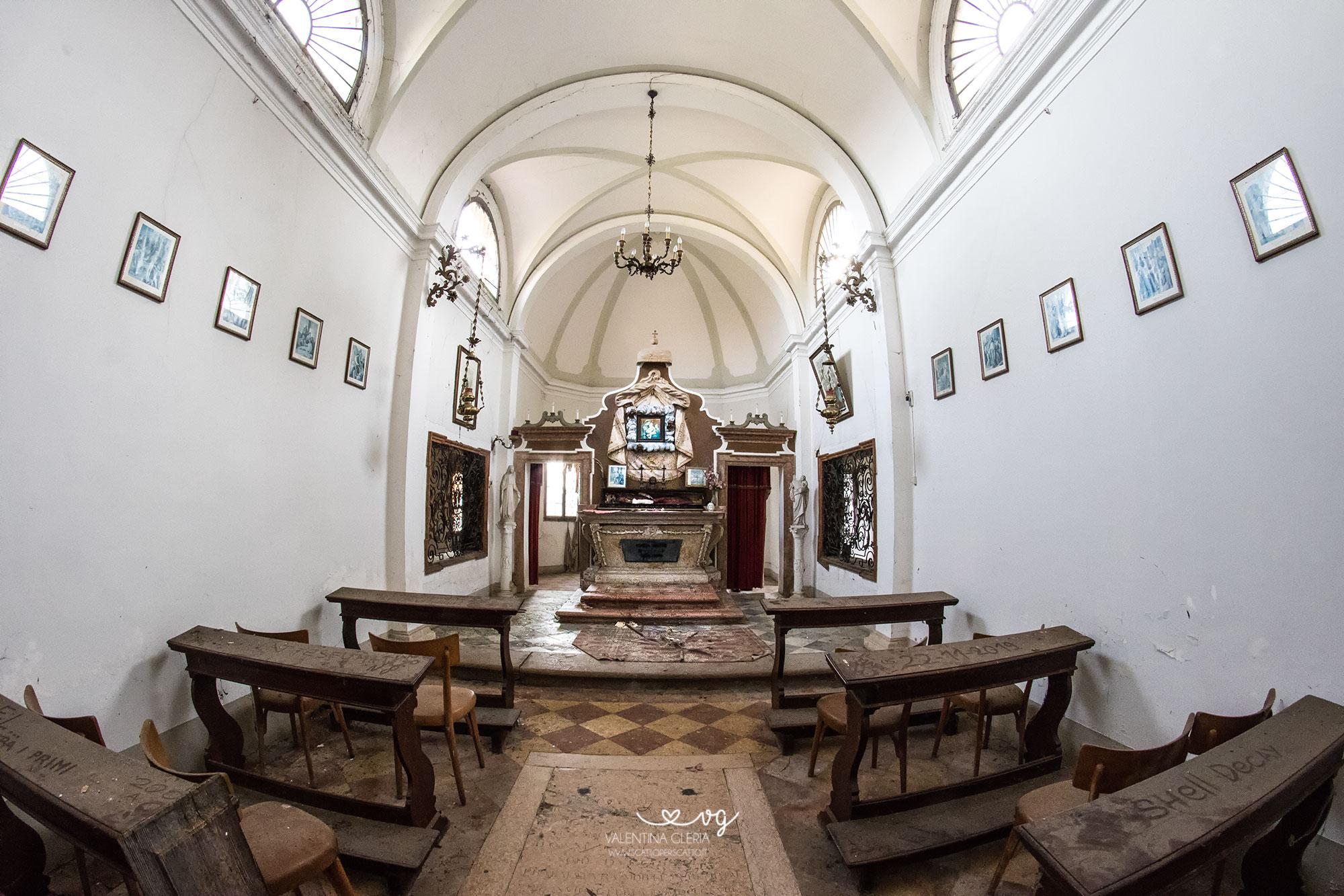 L'oratorio della Natività di Maria
