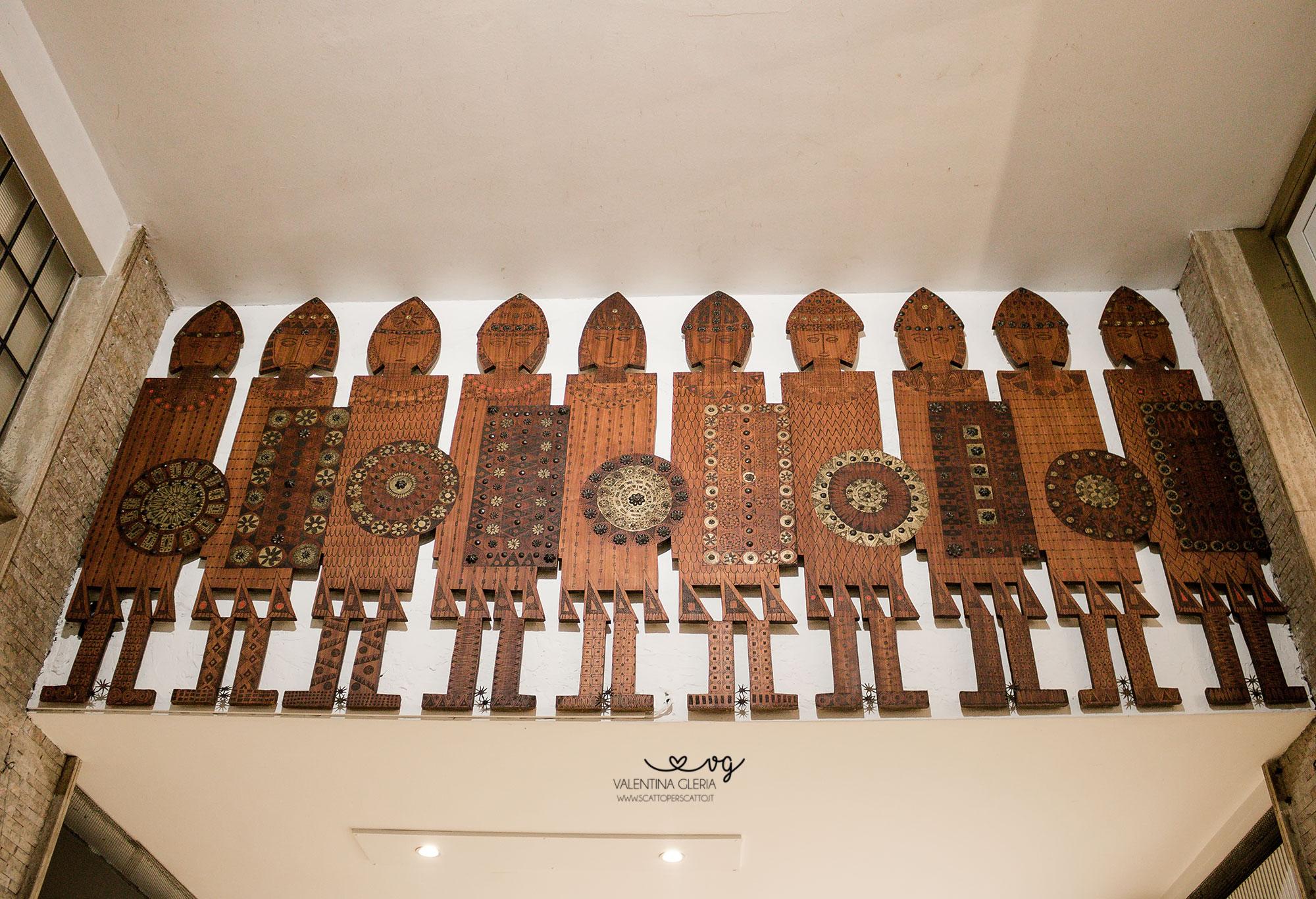 I Dieci Guerrieri di Galleria Duomo a Padova