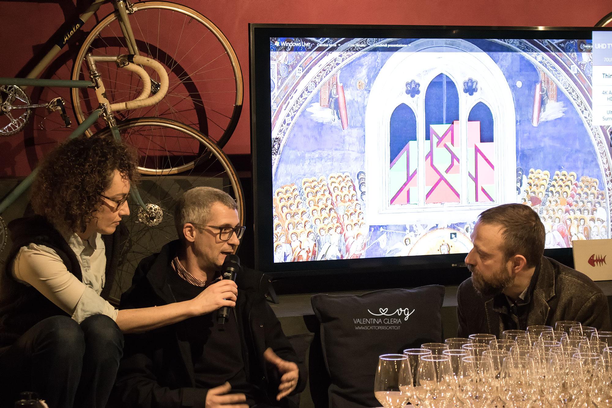 L'artista Joys intervistato da Guido Bartorelli