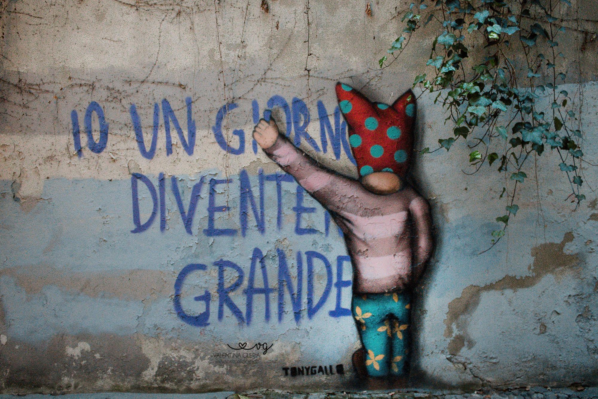 Street Art Padova centro: Tony Gallo