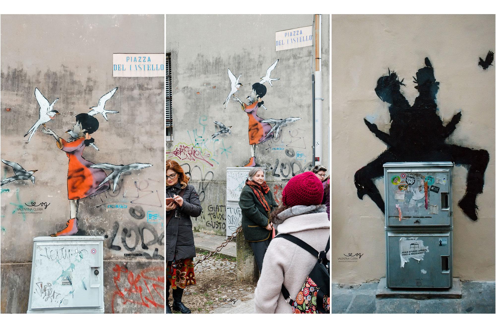 Street Art Padova centro: Kenny Random